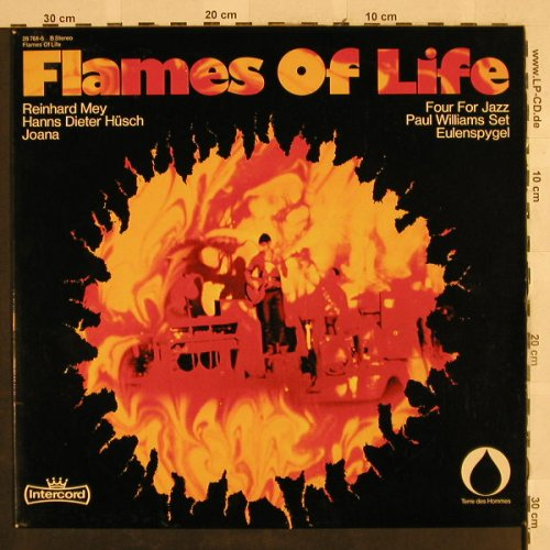 V.A.Flames of Life: R.May,Hüsch,Joana,Eulenspygel..., Intercord(28 761-5), D,  - LP - H2811 - 6,50 Euro