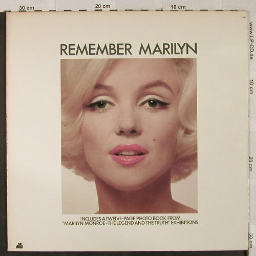Monroe,Marilyn: Remember Marylin, Foc, 20th Century Fox(T-901), US, 1972 - LP - H3019 - 15,00 Euro
