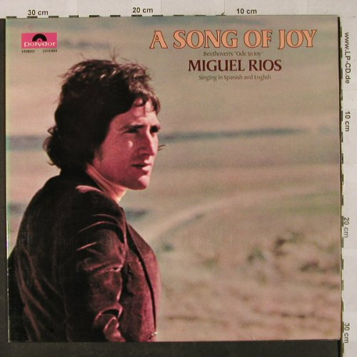 Rios,Miguel: A Song Of Joy,Foc, Polydor(2310 043), D, 1970 - LP - H3036 - 7,50 Euro