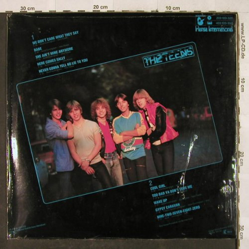 Teens: Rock City Nights, Poster, FS-New, Hansa(203 103-320), D, 1980 - LP - H3376 - 20,00 Euro