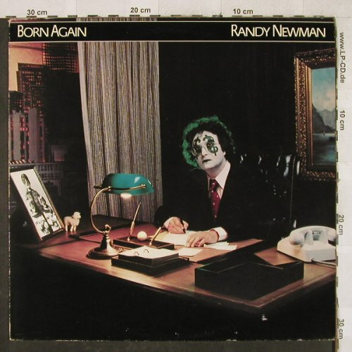 Newman,Randy: Born Again, WB(WB 56 663), D, 1979 - LP - H3380 - 6,00 Euro