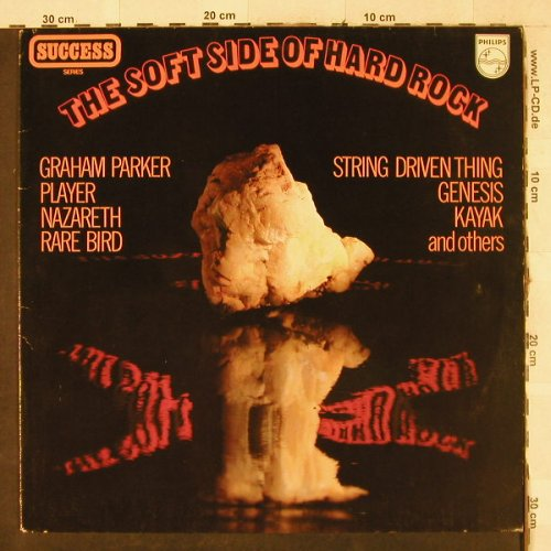 V.A.The Soft Side Of Hard Rock: Player..Clover, vg+/m-, Philips(9279 228), NL,  - LP - H3597 - 3,00 Euro