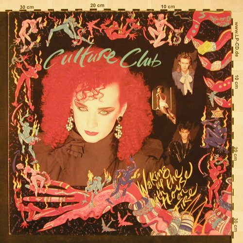 Culture Club: Waking Up With The House On Fire, Virgin(V 2330), UK, 1984 - LP - H4307 - 6,00 Euro