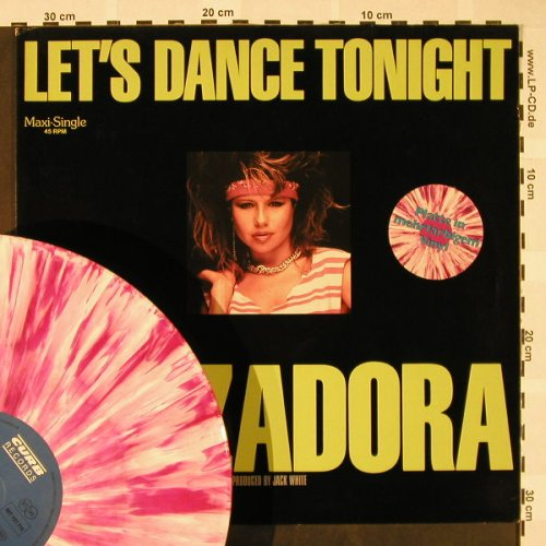 Zadora,Pia: Let's Dance Tonight+1, colored Vin., Curb(INT 127.715), D, 1984 - 12inch - H4341 - 3,00 Euro