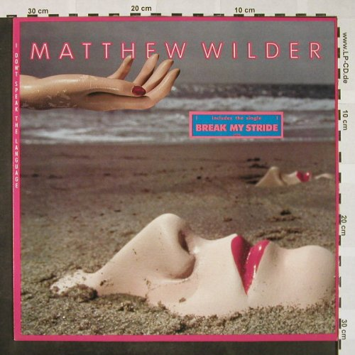 Wilder,Matthew: I Don't Speak The Language, Epic(EPC 25 785), NL, 1983 - LP - H4356 - 5,00 Euro