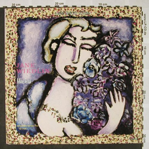 Wiedlin,Jane: Blue Kiss * 3, IRS(A 12.6552), NL, 1985 - 12inch - H4380 - 3,00 Euro