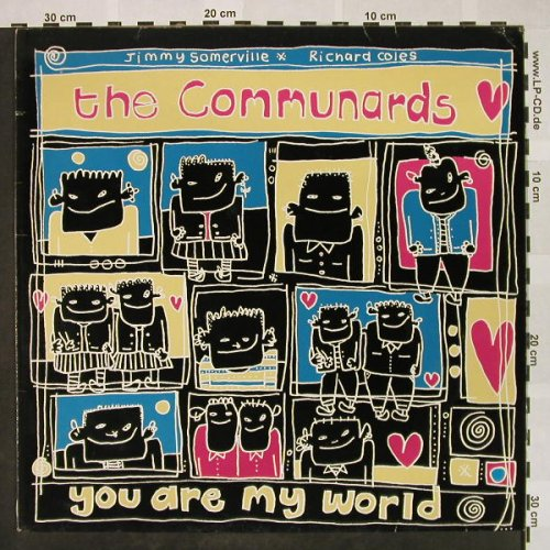 Communards: You Are My World+2, London(886 132-1), D, 1987 - 12inch - H4422 - 2,00 Euro