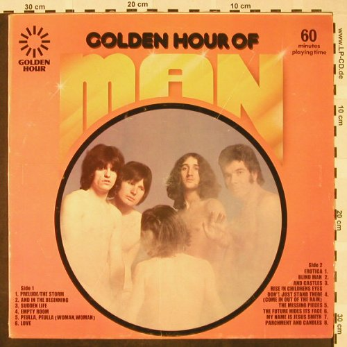 Man: Golden Hour Of, Golden Hour(GH 569), UK, Ri, 1973 - LP - H4565 - 7,50 Euro