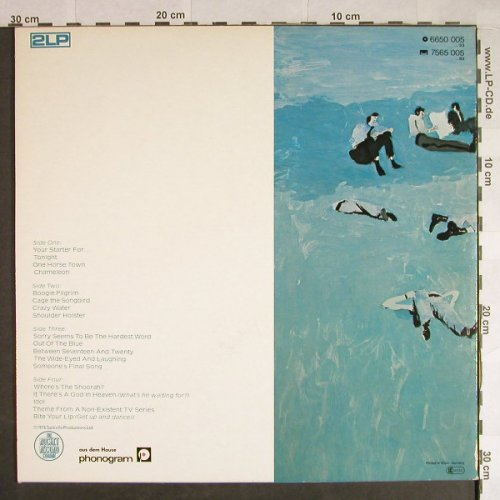 John,Elton: Blue Moves,Foc, Rocket(6650 005), D, 1976 - 2LP - H458 - 7,50 Euro