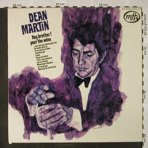 Martin,Dean: Hey brother ! Pour the wine, MFP(MFP 5119), NL, Ri,  - LP - H4706 - 6,00 Euro