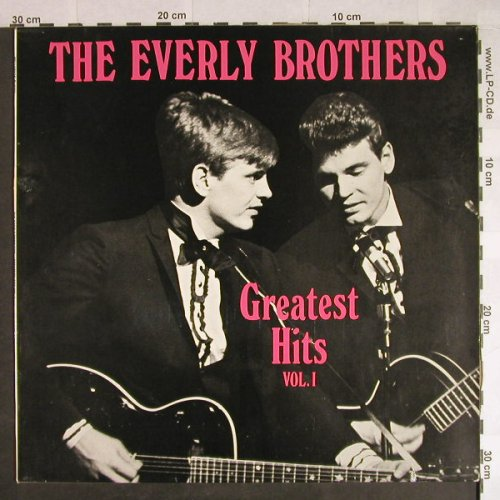Everly Brothers: Greatest Hits Vol.1, Bellaphon(BI 15124), D,  - LP - H474 - 7,50 Euro