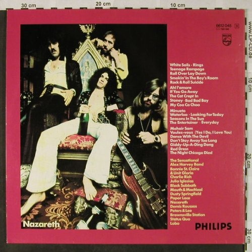 V.A.25 New International Top Hits: Paper Lace...Dave Bowley, Foc, Philips(6612 045), D,  - 2LP - H4809 - 5,00 Euro