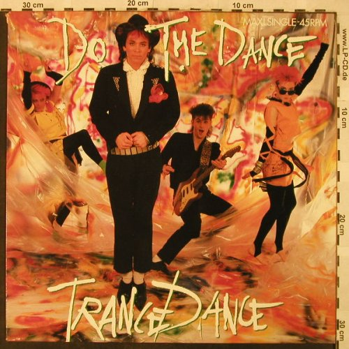 Trance Dance: Do the Dance*2/Sail Away, CBS(CBSA 12.6924), NL, 1986 - 12inch - H5062 - 2,50 Euro