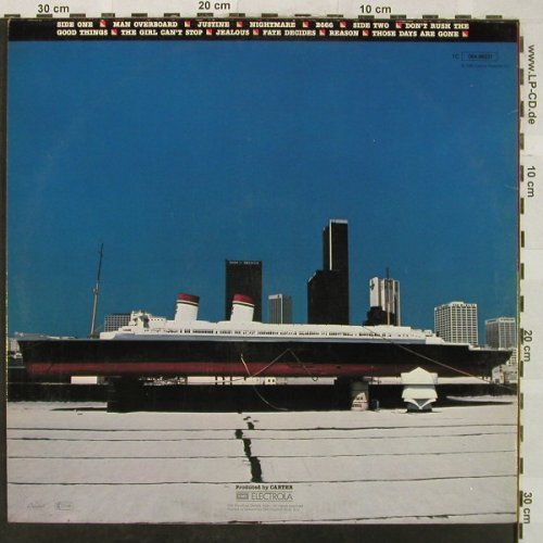 Welch,Bob: Man Overboard, Capitol(064-86231), D, 1980 - LP - H5159 - 5,00 Euro