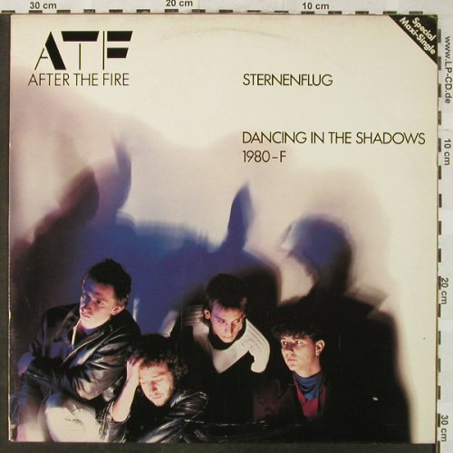 After The Fire: Sternenflug/Dancing Shadow/1980-F, Epic(A 12.2337), NL, 1982 - 12inch - H5169 - 3,00 Euro