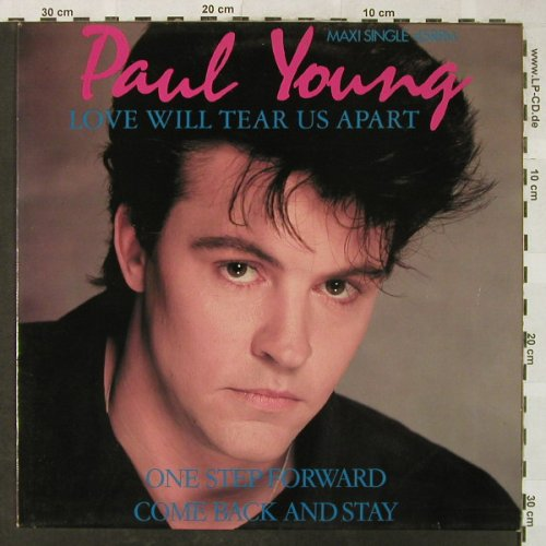 Young,Paul: Love Will Tear Us Apart+2, CBS(A 12-4238), NL, 1984 - 12inch - H5186 - 4,00 Euro