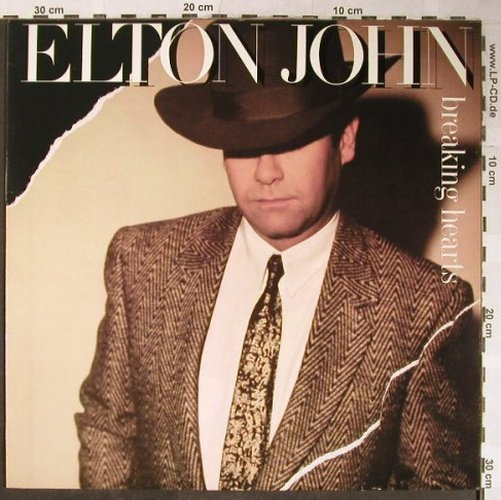 John,Elton: Breaking Hearts, Rocket(822 088-1Q), D, 1984 - LP - H5420 - 5,00 Euro