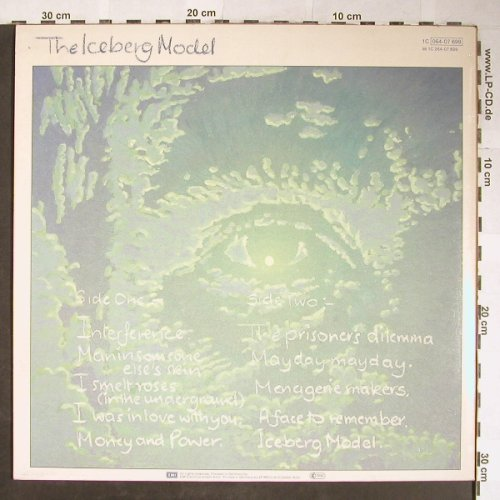 Watts,John: The Iceberg Model, EMI(064-07 699), EEC, 1983 - LP - H5641 - 5,50 Euro