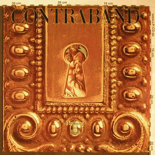 Contraband: Nothing To Hide, vg+/m-, Portrait(JB 35450), US, 1978 - LP - H5742 - 7,50 Euro