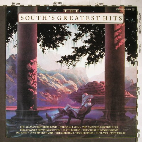 V.A.South's Greatest Hits: Allman Brothers Band...Wet Willie, Capricorn(24 29 153), E, 1977 - LP - H5828 - 5,00 Euro