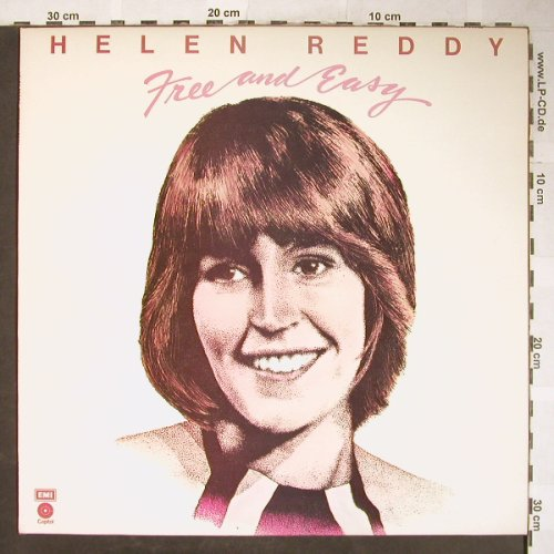 Reddy,Helen: Free And Easy, Capitol(E-ST 11348), UK, 1974 - LP - H5880 - 5,00 Euro