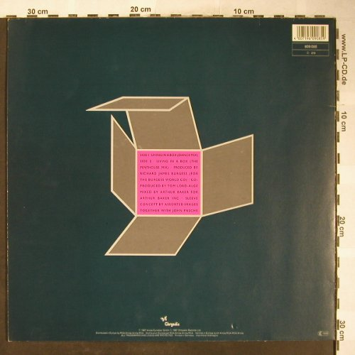 Living In A Box: Living In A Box*2, Chrysalis(609 085), D, 1987 - 12inch - H6059 - 3,00 Euro