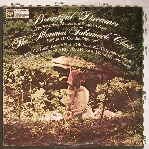 Mormon Tabernacle Choir: Beautiful Dreamer. R.P.Condie, CBS(91 295), UK, 1968 - LP - H6126 - 7,50 Euro