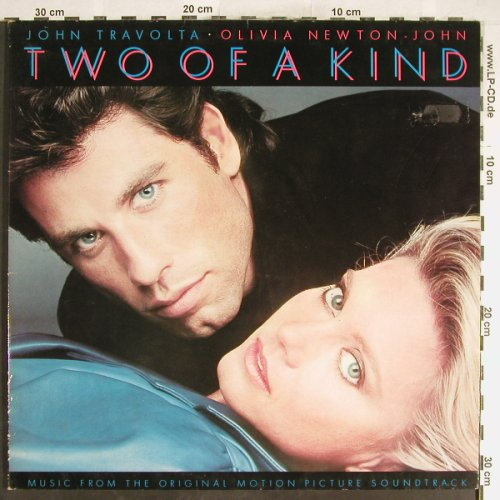 Travolta,John & O.Newton-John: Two of a Kind, Foc, EMI(1654611), NL, 1983 - LP - H6351 - 6,00 Euro