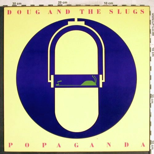 Doug & The Slugs: Popaganda, Ritdong(AMD1003), CDN, 1984 - LP - H7091 - 6,00 Euro
