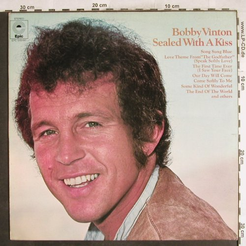 Vinton,Bobby: Sealed With A Kiss, m-/vg+, Epic(EPC S 65180), NL, 1972 - LP - H7166 - 4,00 Euro