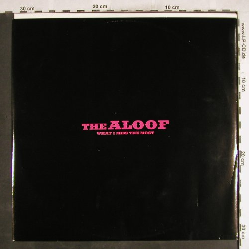 Aloof: What I Miss The Most*2+1,Promo, Warner(3331000012), UK, 1998 - 12inch - H7342 - 1,00 Euro