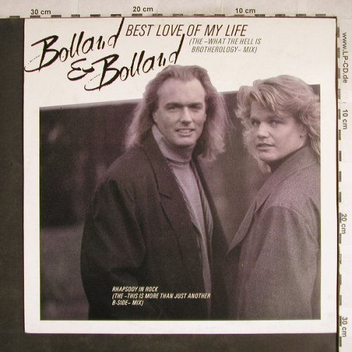 Bolland & Bolland: Best Love Of My Life+1, Teldec(6.20733 AE), D, 1987 - 12inch - H7516 - 2,50 Euro
