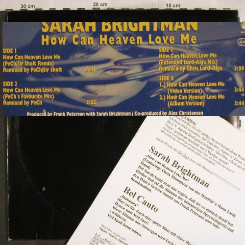 "Brightman,Sarah: How Can Heaven Love Me*5, m-/vg+, EW(PM 1478), D, 1996 - 12""*2 - H7574 - 5,00 Euro"