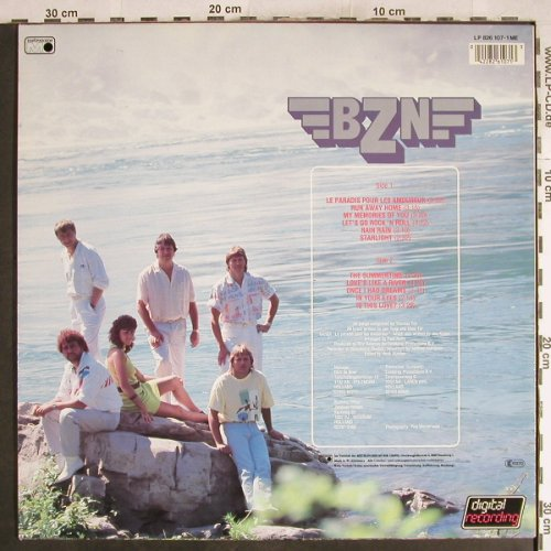 BZN: Maid Of The Mist, Metronome(826 107-1), D, 1985 - LP - H7600 - 5,50 Euro