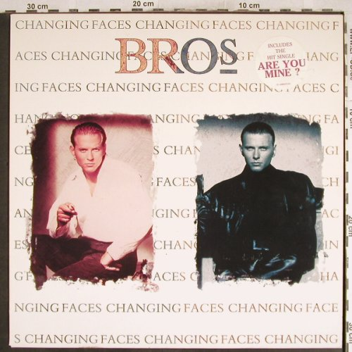 Bros: Changing Faces, Columbia(), NL, 1991 - LP - H7603 - 6,50 Euro