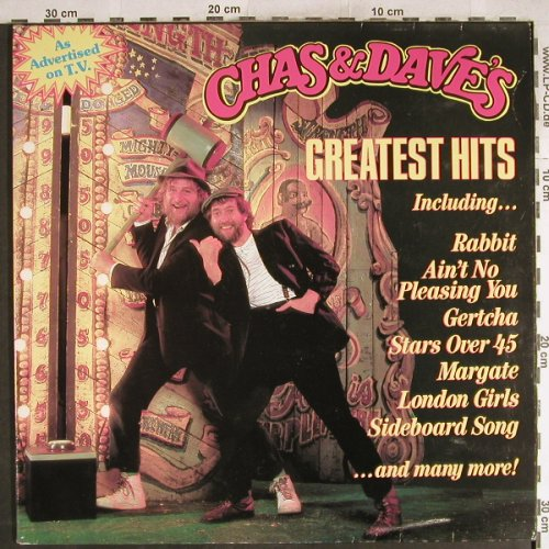 Chas & Dave: Greatest Hits, Foc, Rockney(ROC 913), UK, 1984 - LP - H7628 - 5,50 Euro