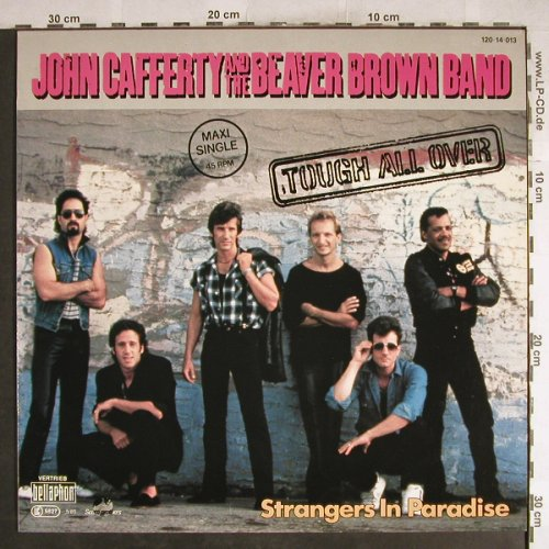 Cafferty,John & t.Beaver Brown Band: Tough All Over+1, Bellaphon(120 14 013), D, 1985 - 12inch - H7659 - 1,00 Euro