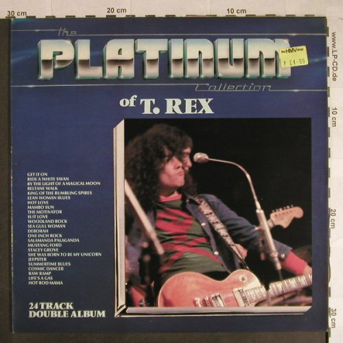 T.Rex: The Platinum Collection Of, Cube(PLAT 1002), UK, Ri,  - 2LP - H773 - 9,00 Euro