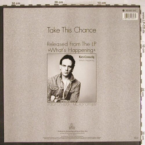 Connoly,Kiev: Take This Chance *2+1, Ariola(601 847-213), D, 1985 - 12inch - H7763 - 1,00 Euro