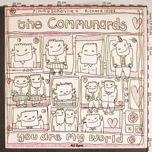 Communards: You Are My World+2, Metronome(886 000-1ME), D, 1985 - 12inch - H7766 - 2,50 Euro
