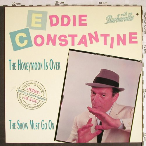 Constantine,Eddie: Honeymoon Is Over+3,red vinyl, Weserlabel(MS 02421), D,co, 1987 - 12inch - H7777 - 3,00 Euro