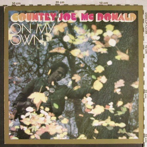 Country Joe Mc Donald: On My Own,Ri, Line(6.26050 AP), D, 1980 - LP - H7791 - 5,00 Euro