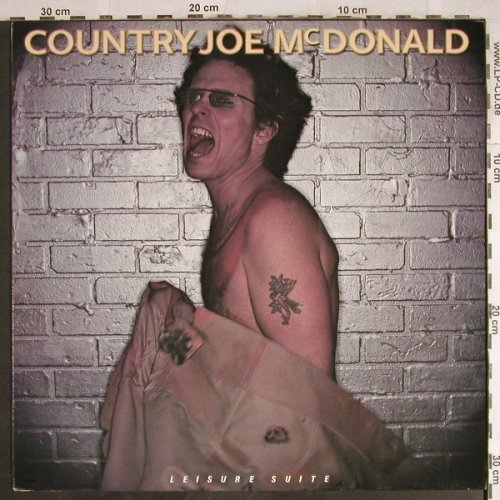 Country Joe Mc Donald: Leisure Suite, whMuster, Rag Baby(6.26048 AP), ,  - LP - H7792 - 5,00 Euro