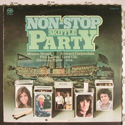 V.A.Non-Stop Skiff Party: Monica Morell,Carpendale,Phil&John., MFP(M 048-29524), D,vg+/vg+, 1974 - LP - H7810 - 4,00 Euro
