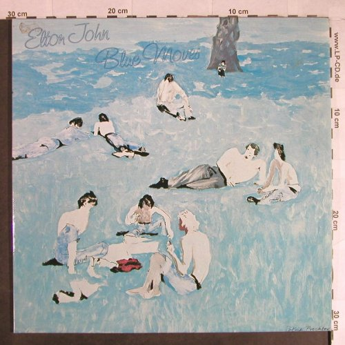John,Elton: Blue Moves,Foc, Rocket(188-98 293/94), D, 1976 - 2LP - H789 - 7,50 Euro
