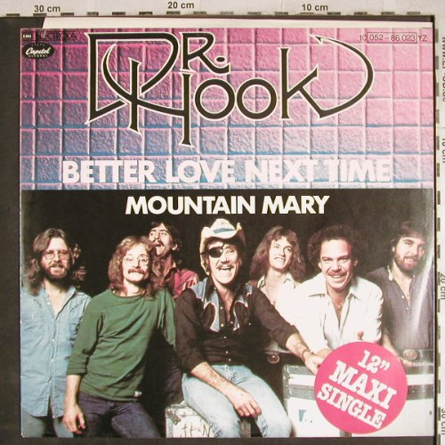 Dr.Hook: Better Love Next Time +1, Capitol(052-86 023), D, 1979 - 12inch - H7993 - 2,50 Euro