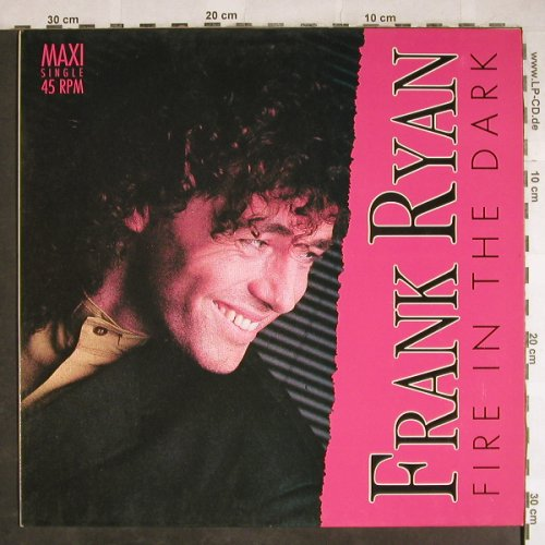 Ryan,Frank: Fire in the Dark*2/Runaway, EMI(1C 060-14 74316), EEC, 1989 - 12inch - H8029 - 2,50 Euro