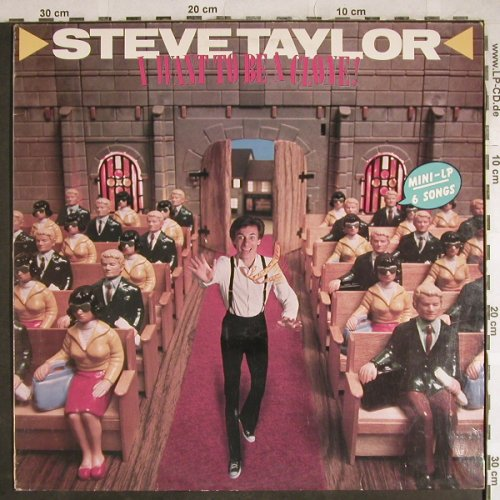 Taylor,Steve: I Want to be a clone, Sparrow Records(SPR 1063), UK, 1984 - LP - H8236 - 6,00 Euro