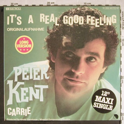 Kent,Peter: It's A Real Good Feeling +1, long, EMI(052-45 773), D, 1979 - 12inch - H8362 - 4,00 Euro