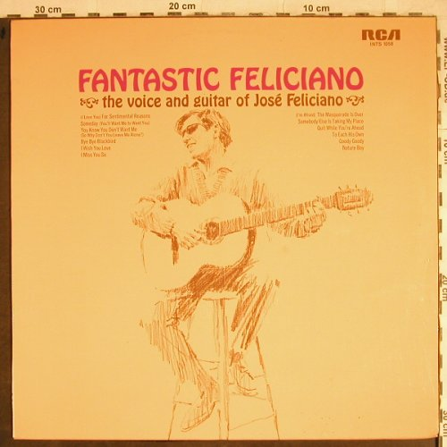 Feliciano,Jose: Fantastic...The Voice and Guitar Of, RCA International(26.21195 AF), D,  - LP - H8525 - 5,00 Euro